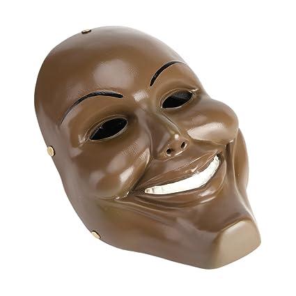 Zerodis Máscara de Halloween Resina Purga Horror Máscara Cosplay Custome Colección Artesanía Fiesta de Halloween Festival