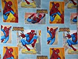 Spiderman Spider Sense (FLAT SHEET ONLY) Size TWIN Boys Girls Kids Bedding