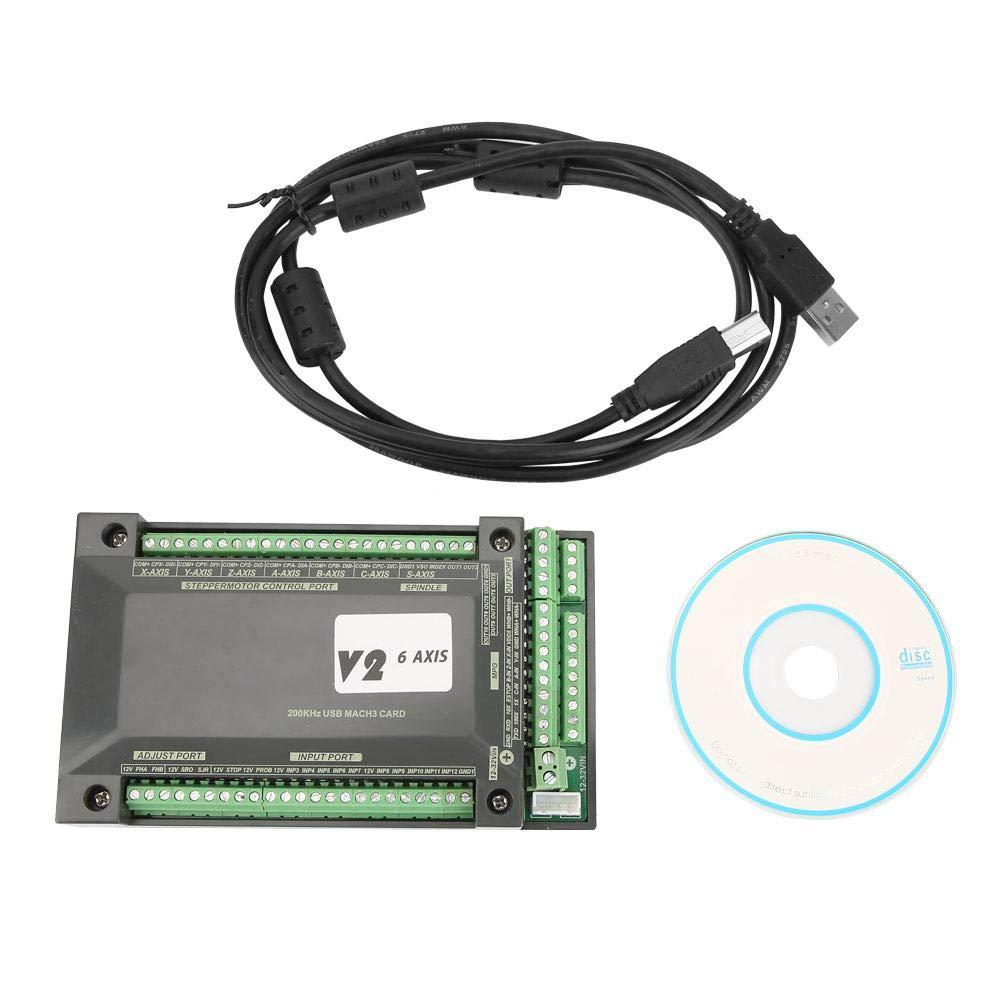 Liukouu 6-Achsen-NVUM-CNC-Controller MACH3 200-kHz-Ethernet-Schnittstellenkarte