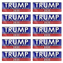 PACETAP 10 PCS 9 X 3 inch Trump 2020 Dec...
