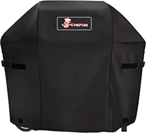 CHEFUN Grill Cover 7138 Cover for Weber Spirit 200 and Spirit II 200 Series,48 inch Grill Cover Waterproof Heavy Duty Gas BBQ,Weather-Resistant Polyester
