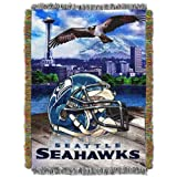 NFL Seattle Seahawks Acrylic Tapestry Throw Blanket