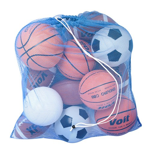 Mesh Storage Sack - BSN Heavy-Duty Mesh Equipment Bag (Kelly)