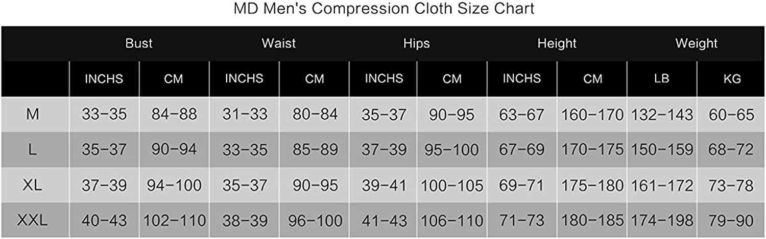 MD Mens Compression Pants for Running Workout,Winter Sport Thermal Underwear