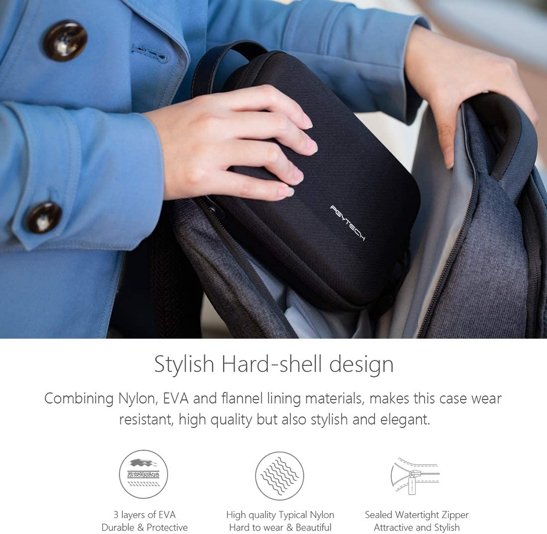 PGYTECH Mini Handbag Portable Storage Bag Carrying Case for DJI OSMO Action Camera,OSMO Pocket,with USB Reader