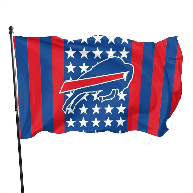 Stockdale Buffalo Bill Garden Flag Duty Durable Flags 3x5 FT for Outdoors Outside