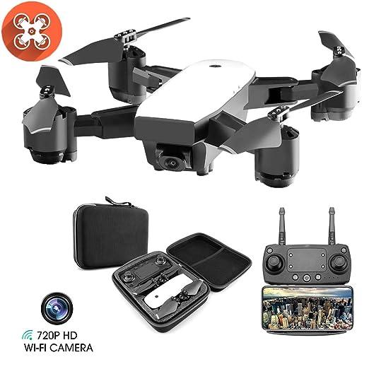 Drone WiFi FPV Quadcopter con Cámara 1080P HD con Follow Me, 120º ...