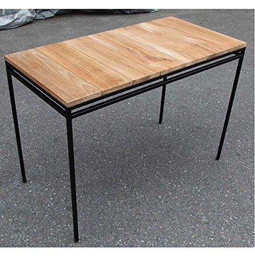 ジャービス商事 アイアンウッドテーブル 1050 #34272 B072Z956XN
