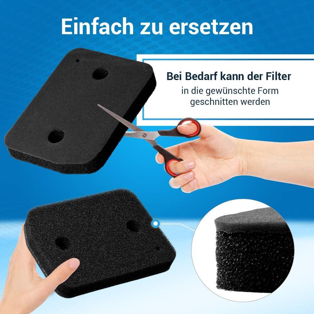 Filtro de espuma para secador de condensaci/ón Miele 9164761 207 x 155 mm