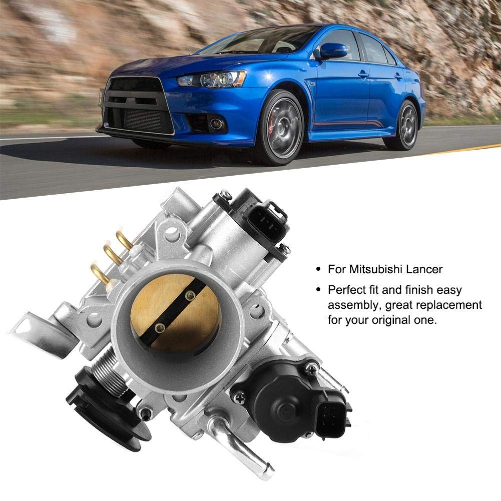 Suuonee Throttle Body MR560120 MR560126 MN128888 Throttle Body Valve Fit for Mitsubishi Lancer 4G18 Engine