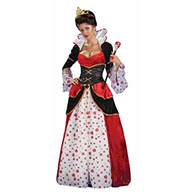 Forum Alice In Wonderland Queen Of Hearts Costume - Small  sc 1 st  Amazon.com & Amazon.com: Forum Alice In Wonderland Queen Of Hearts Costume: Clothing