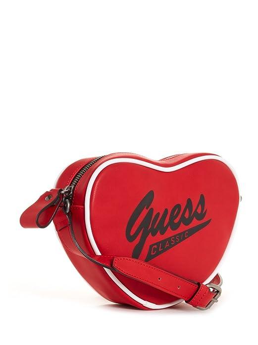 cc69d8be2 GUESS GUESS Originals Heart Crossbody: Amazon.ca: Shoes & Handbags