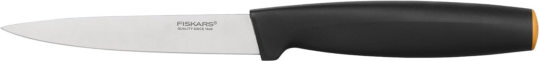 Amazon Com Fiskars 1014205 Ff 11 Cm Vegetable Knife One Size Black Kitchen Dining