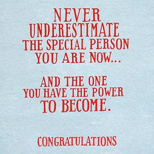 Hallmark Graduation Greeting Card (Never Underestimate) Photo #6
