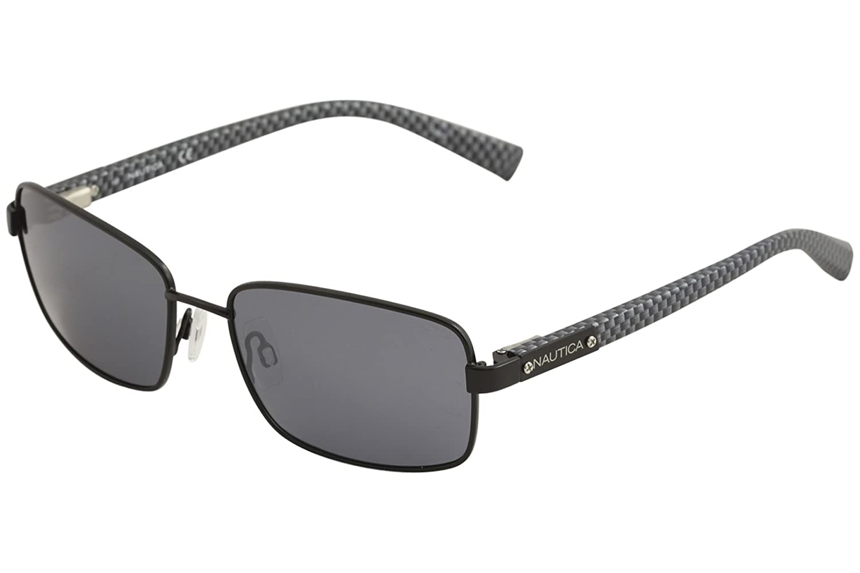 3868001de2 Amazon.com  Nautica Men s N5105S-005 Polarized Sunglasses