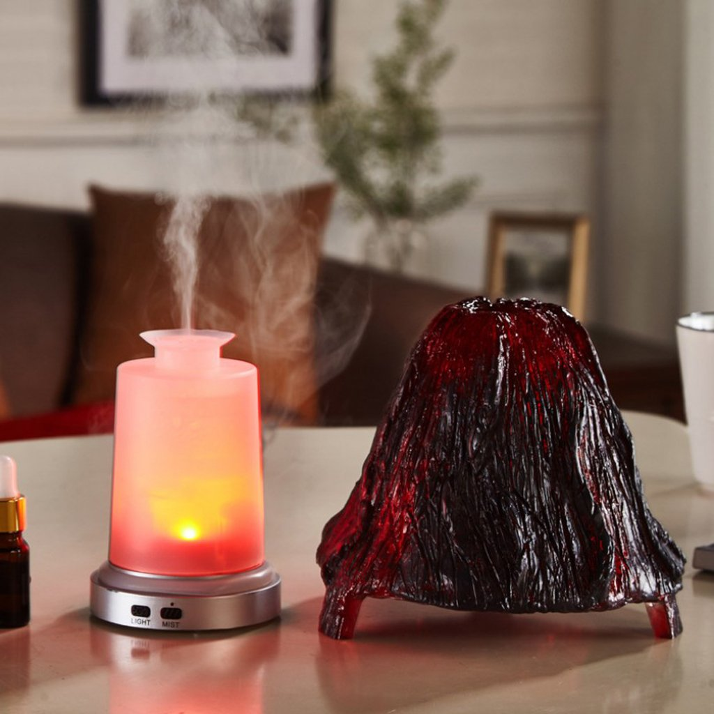 Blesiya Air Purifier Diffuser for Home,Yoga, Office, Spa, Baby Room - Volcanic Shape by Blesiya (Image #4)