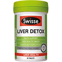 Swisse UltiboostLiver Detox Supplement, 60ct
