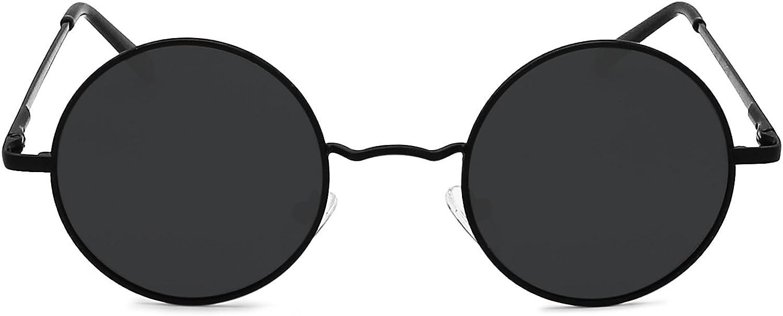 AMZTM Classico Mode Rotondi Occhiali Da Sole Polarizzati