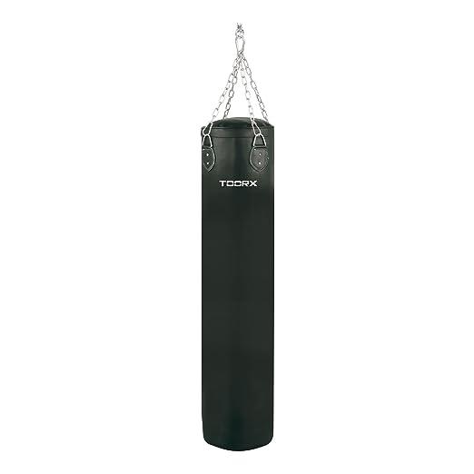 5 opinioni per Toorx- Sacco Boxe Pelle Sintetica 40 kg x 130 cm x 35 Diametro
