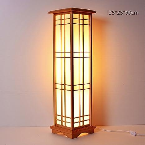 MMM- Lámpara de pie de estilo japonés, creativa ...