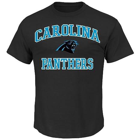 Carolina Panthers Majestic NFL Heart   Soul III Men s Big   Tall Short  Sleeve T- dda900a3a