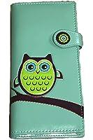 Shagwear Wise Owl Wallet Teal