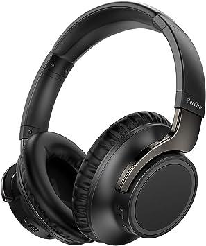 ZoeeTree-H8 - Auriculares Bluetooth Diadema, Cascos Inalámbricos Bluetooth duración de batería de hasta 30 H, diafragma de 40 mm, Hi-Fi Sonido Estéreo para TV, PC, Móviles: Amazon.es: Electrónica