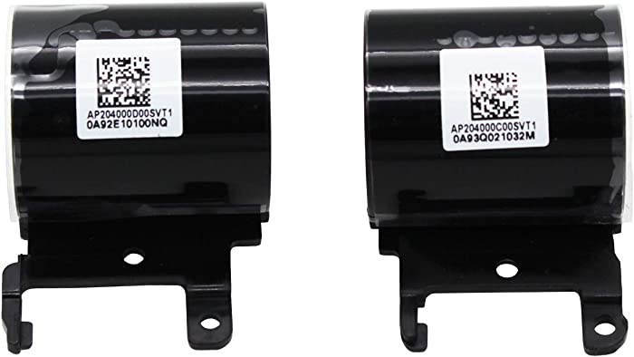 S-Union Replacement Left and Right Hinge Covers Set for HP 15-BS 15-BS015DX 15-BS020WM 15-BW Hinges Cover 24984-001 924985-001