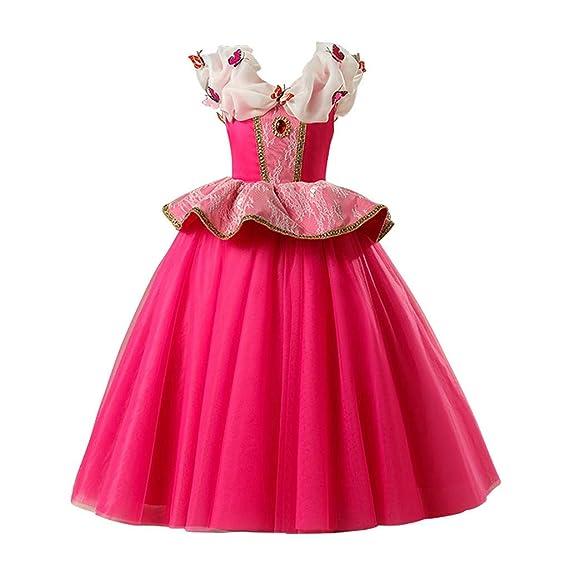 Opaky Disfraz De Princesa Aurora Vestido Traje De Bella