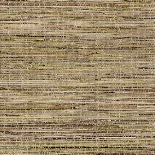 - Manhattan comfort NW488-417 Madison Series Raw Jute Paper Weaves Grass Cloth Design Large Wallpaper Roll, 36