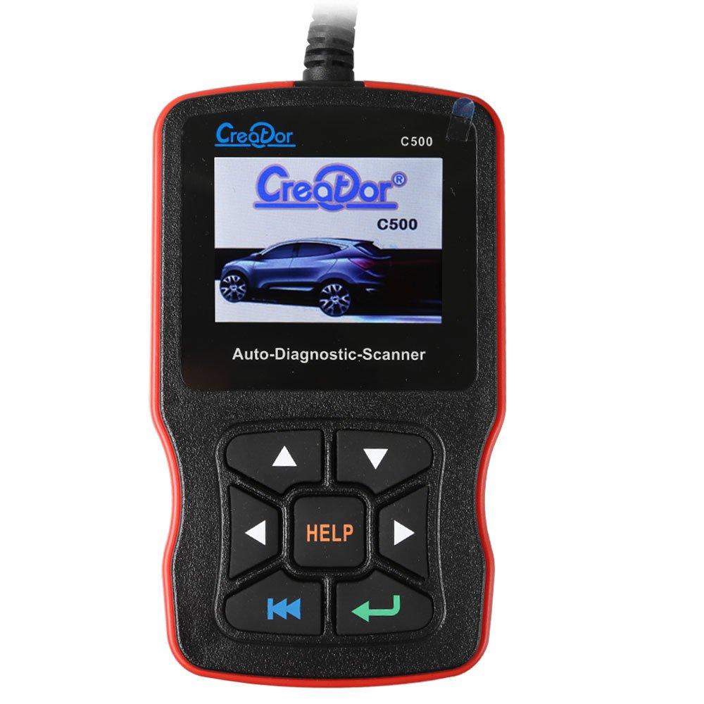 Creator C500 Auto Diagnostic Scanner for OBDII/EOBD/BMW/Honda/Acura