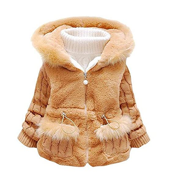 8e4e394ac13d Cute Baby and Little Girl s Toddler Kids Winter Warm Coat Jacket ...