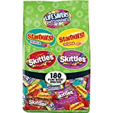 Wrigley Skittles Assorted Gummies Halloween Candy 180pc Fun Size 68.7oz Deal (Small Image)