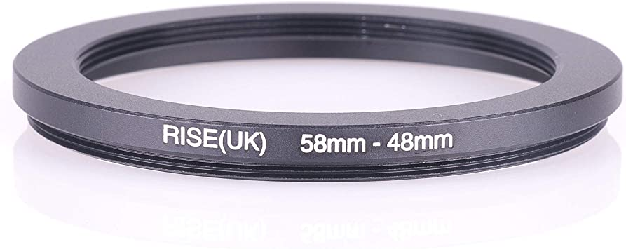 48-52mm 48-52 48mm to 52mm Metal Stepping Ring New UK Stock
