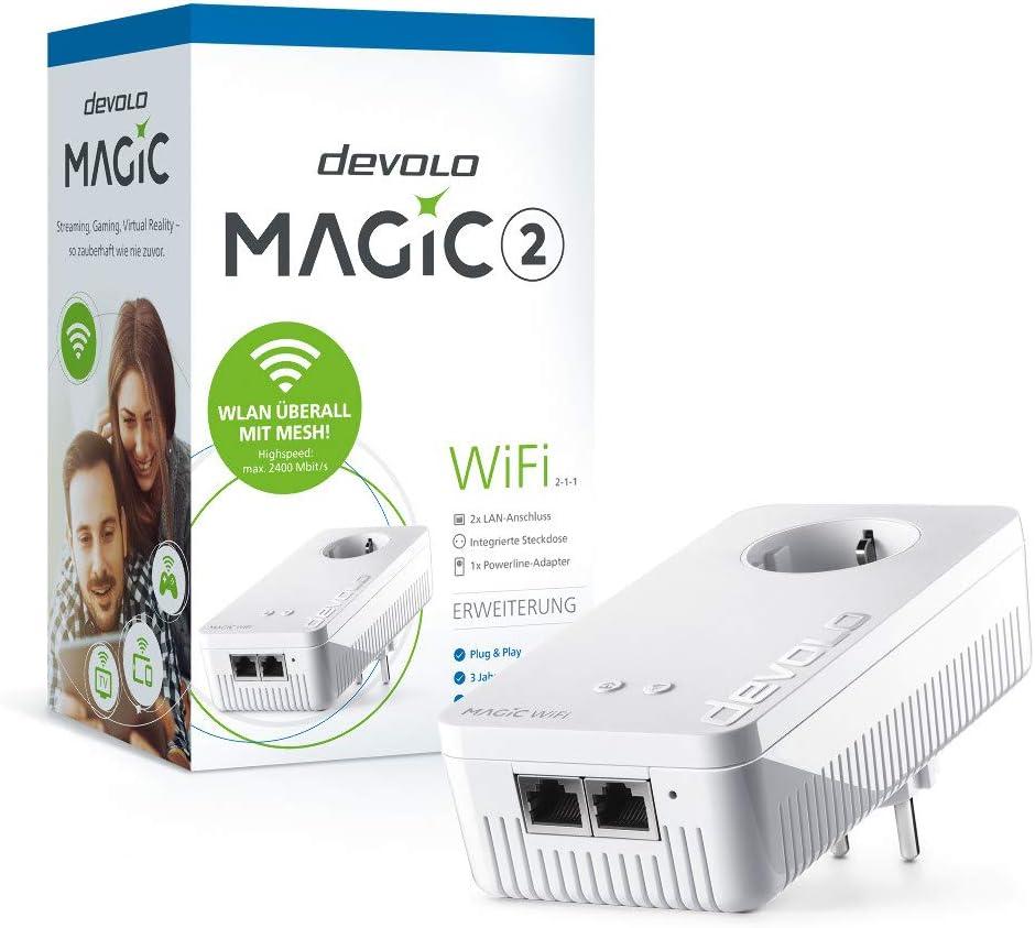 Devolo Magic 2 Wifi Ergänzungsadapter 2 1 1 Computer Zubehör