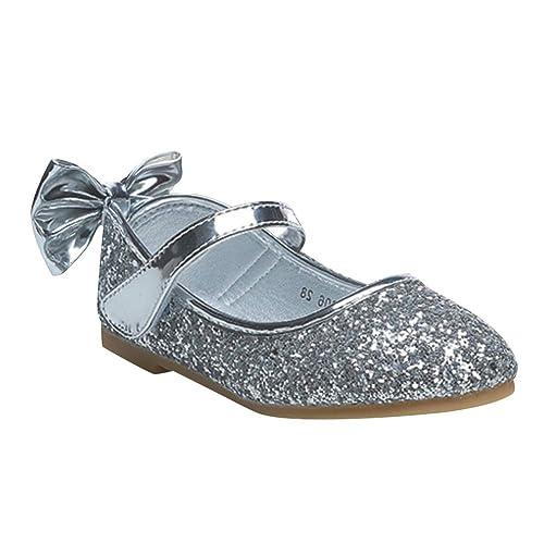 Yudesun Zapatos Niña Mocasines - Zapatos de Cuero Niños Sandalias Cabeza Redonda Cómodas Ocio Princesa Danza Zapatos de Baile: Amazon.es: Zapatos y ...