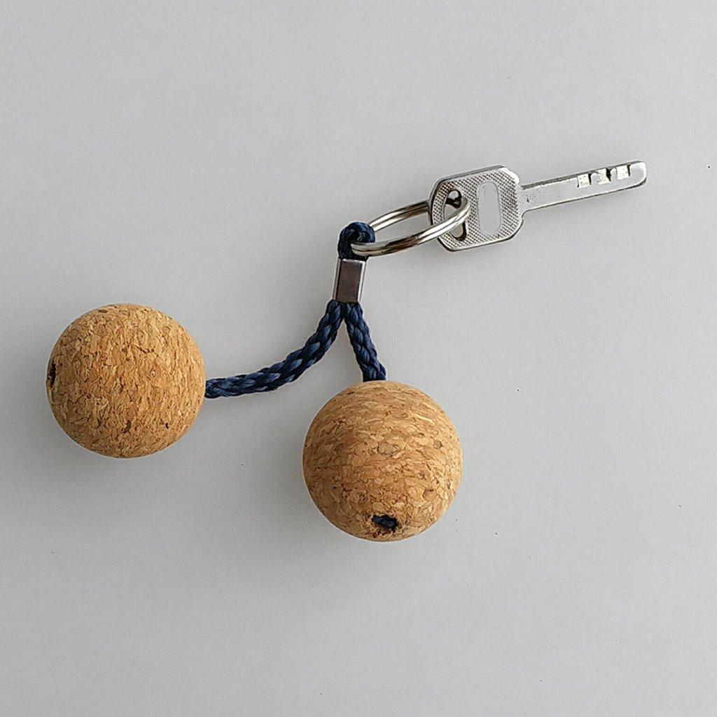 NON Sharplace 1 Unidad de Llavero Flotante de Doble Bola ...