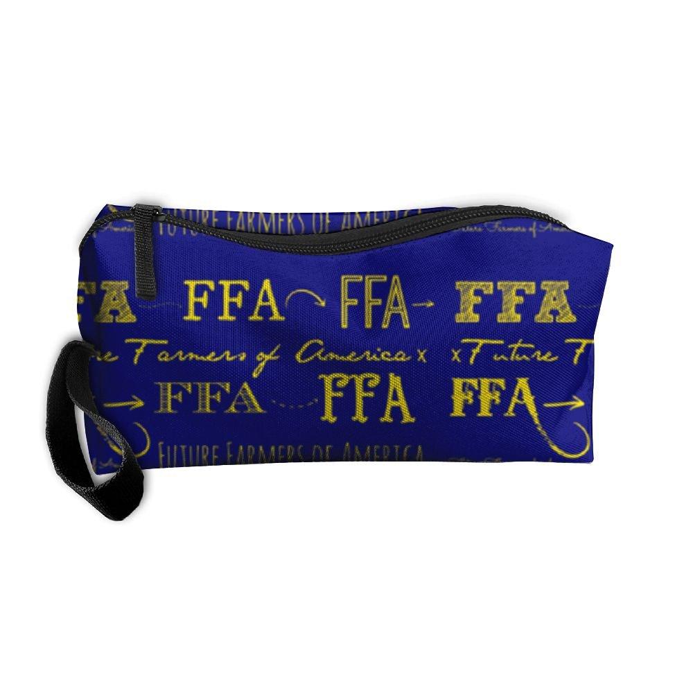 FRTSFLEE FFA Future Farmers Of America Pencil Case Travel Toiletry Bag Receive Bag Pencil Bag Durable Pouch Zipper Big Capacity Trave Makeup Organizer Bag
