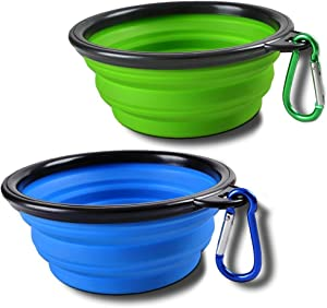 Sabuy Collapsible Dog Travel Bowl