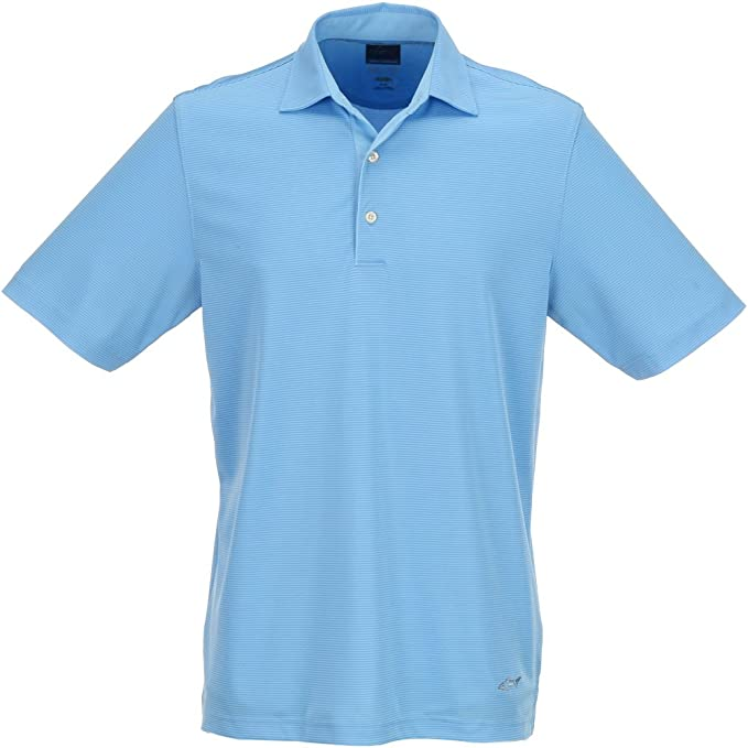 Greg Norman hombre ML75 Tonal Stripe Polo, Azul claro: Amazon.es ...