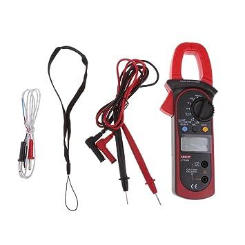 homyl multímetro digital con pinza amperímetro voltímetro AC/DC - Tensiómetro: Amazon.es: Bricolaje y herramientas