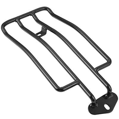 "KATUR Motorcycle Luggage Rack Support Shelf Fits Rear Solo Seat 280mm (11"") Black Fits Harley XL Sportsters 883 XL1200 1985-2003: Automotive"