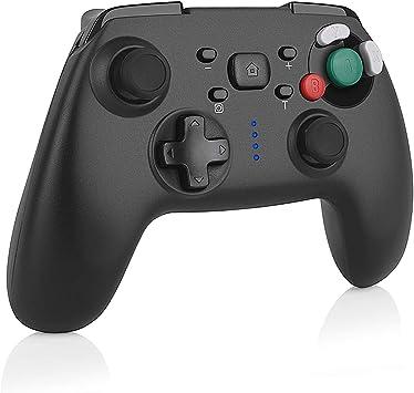 TUTUO Nintendo Switch Controlador Mando Inalámbrico Gamepad Bluetooth Controller Joypad Video Guego Joystick para Nintendo Switch Pro -Negro: Amazon.es: Electrónica