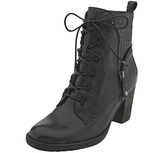 79f82ce970d14 Earth New Women s Missoula Ankle Boot Black Leather 6.5  Amazon.ca ...