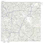 Pico Rivera Zip Code Map.Amazon Com Pico Rivera Ca Zip Code Map Laminated Home Kitchen