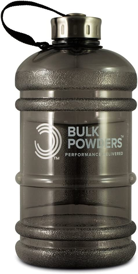 BULK POWDERS Botella de agua de 2,2 l, color negro, tamaño ...
