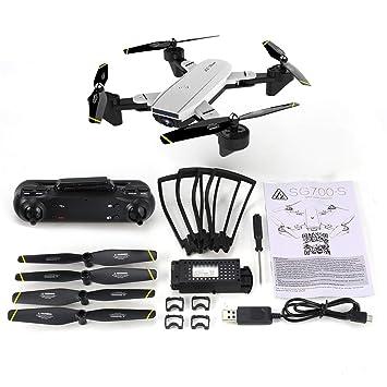 EdBerk74 SG700-D Drone Plegable con 4K HD Full Camera Profesional ...
