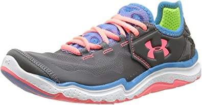 personalizado intervalo acción  Amazon.com | Under Armour Women's UA W Charge RC 2 Charcoal/Electric  Blue/Brilliance 6 B - Medium | Road Running