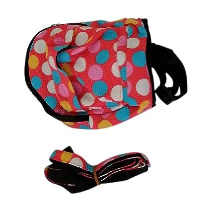 9307cc3fa51a Amazon.com : LIAOYLY Pet Dog Cat Canvas Backpack Harness Leash Small ...