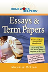 Homework Helpers: Essays & Term Papers Paperback